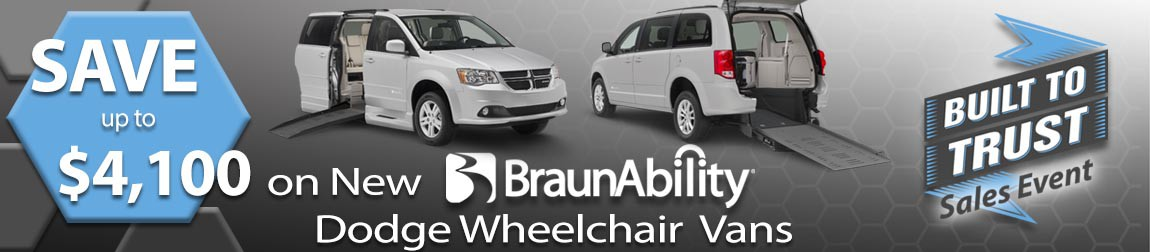 BraunAbility Built To Trust sales event