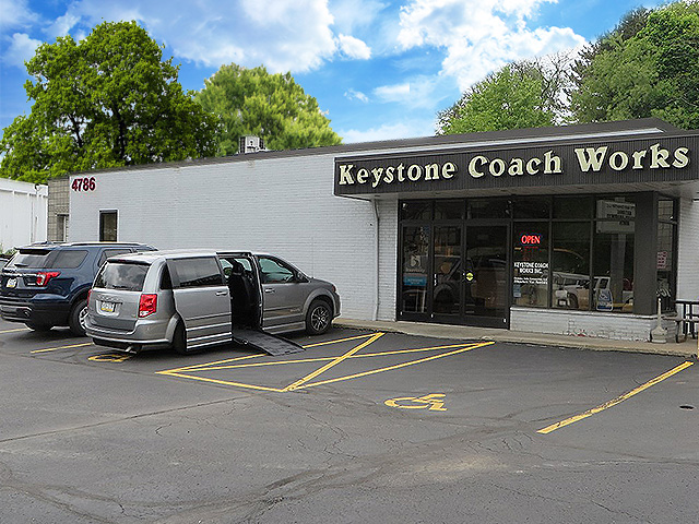 Keystone Coach Works's Facility at Bethel Park, PA